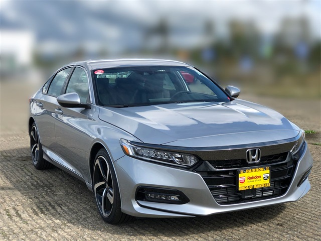New 2019 Honda Accord 1.5T Sport CVT Sedan