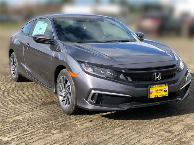 New 2020 Honda Civic 2.0 LX CVT Coupe